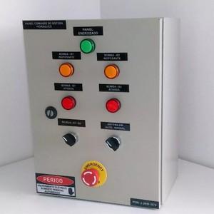 Painel de distribuição elétrica